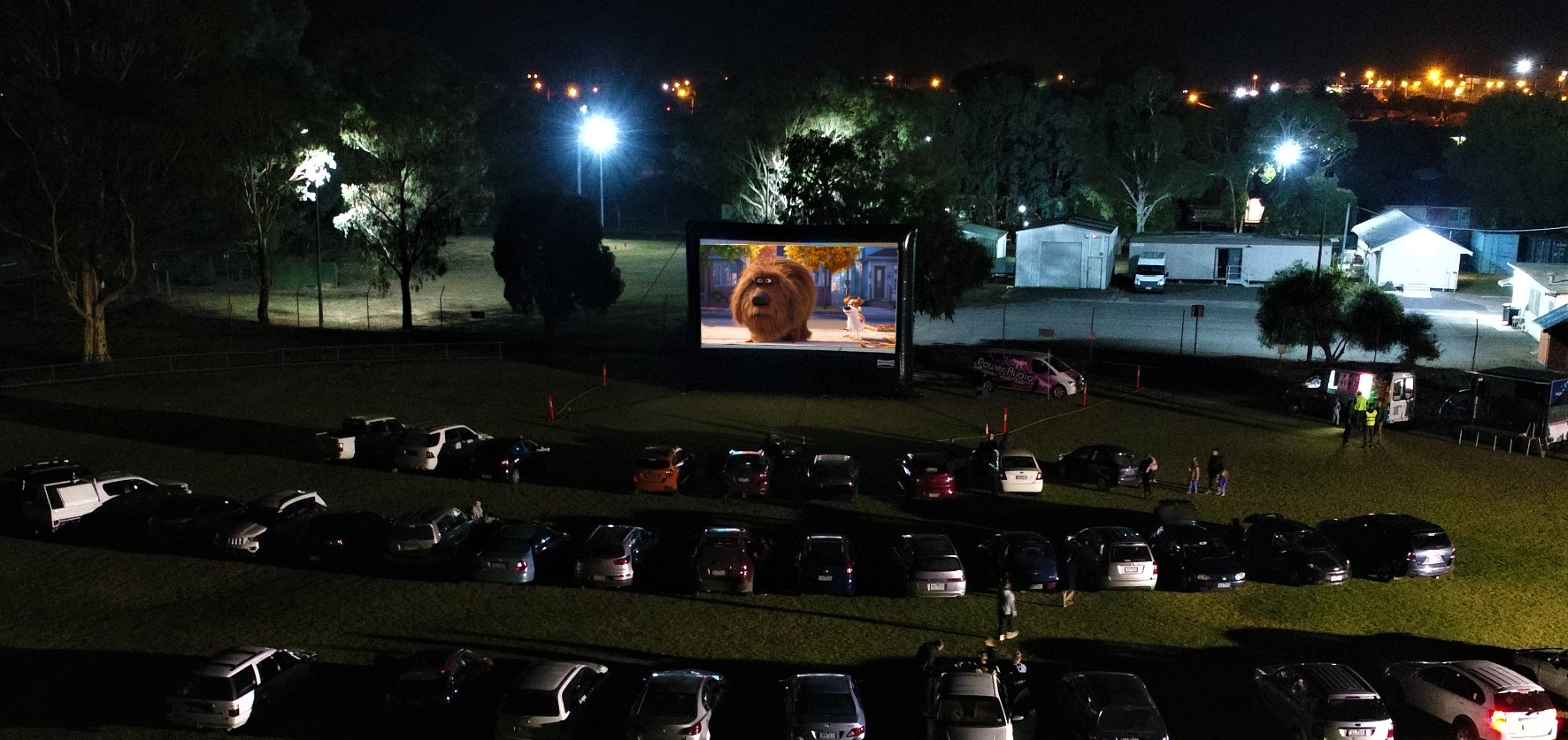AIRSCREEN Drive-In Package